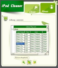 cyberipod iPod Cleaner screenshot